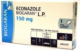 Econazole l.p. 150mg - biogaran -206883