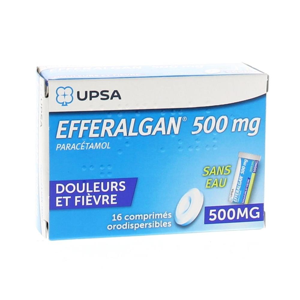 Efferalganodis 500mg - 16.0 unites - upsa -190514