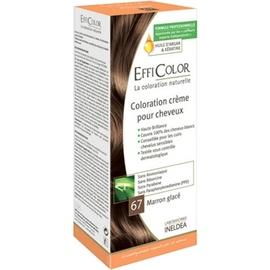 Efficolor coloration crème 67 marron glacé - efficolor -200639