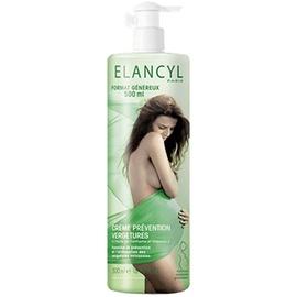 Elancyl crème prévention vergetures - 500ml - elancyl -200581