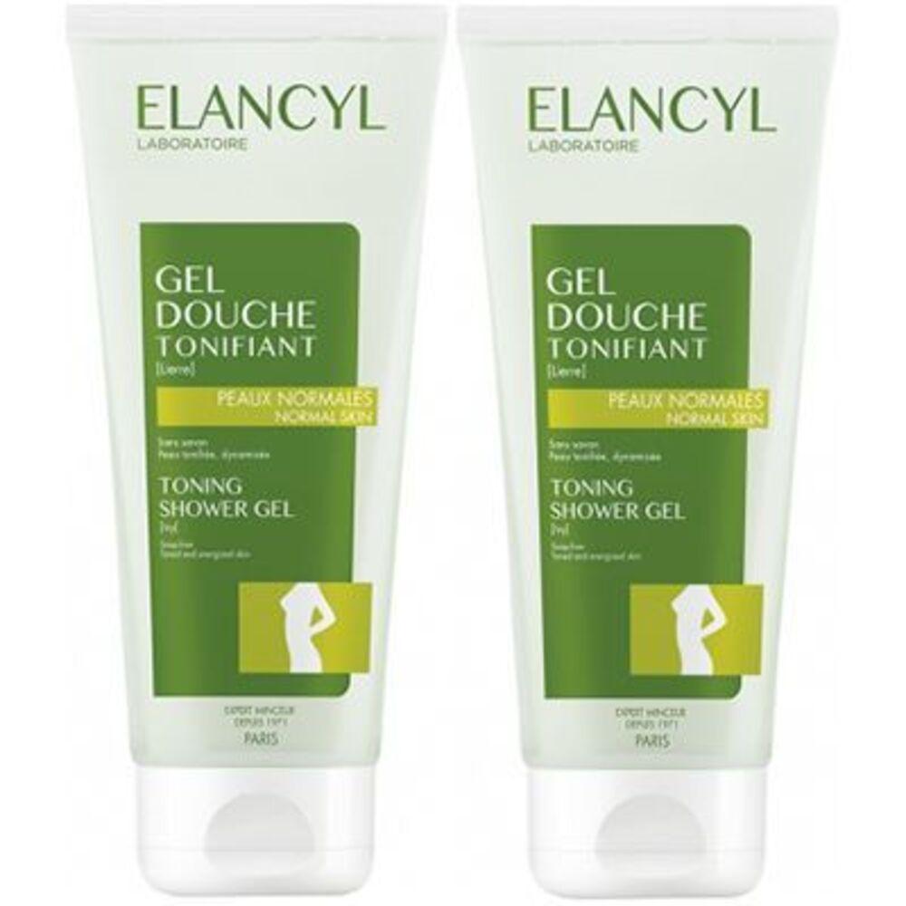Elancyl gel douche tonifiant lot de 2 x 200ml - elancyl -17079