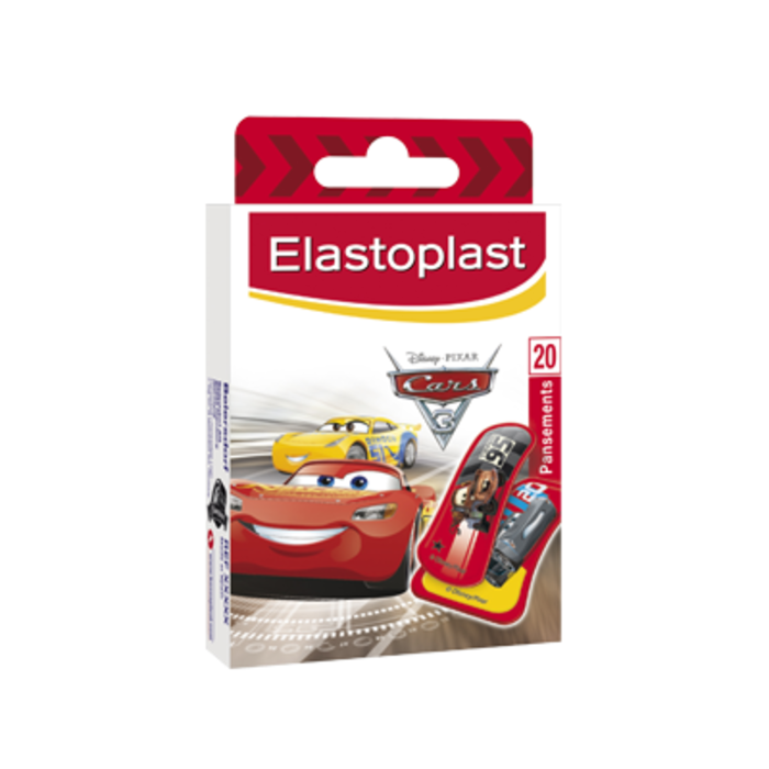 Elastoplast kids disney cars 20 pansements Elastoplast-219375