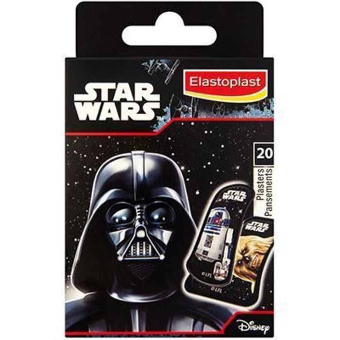 Elastoplast kids disney star wars 20 pansements Elastoplast-219439