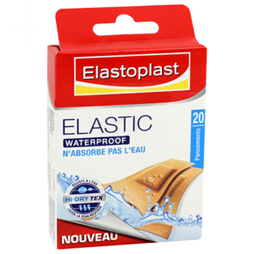 ELASTOPLAST Pansement Elastic Waterproof - Elastoplast -197789