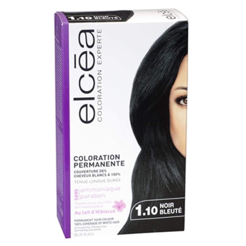 Elcea coloration experte 1.10 noir bleuté - elcea -143824