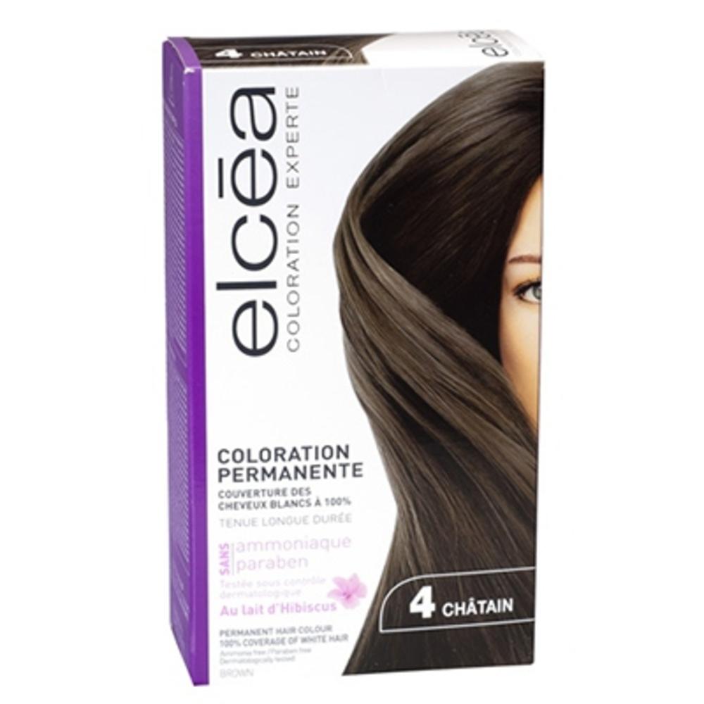 Elcea coloration experte 4 châtain - elcea -143870