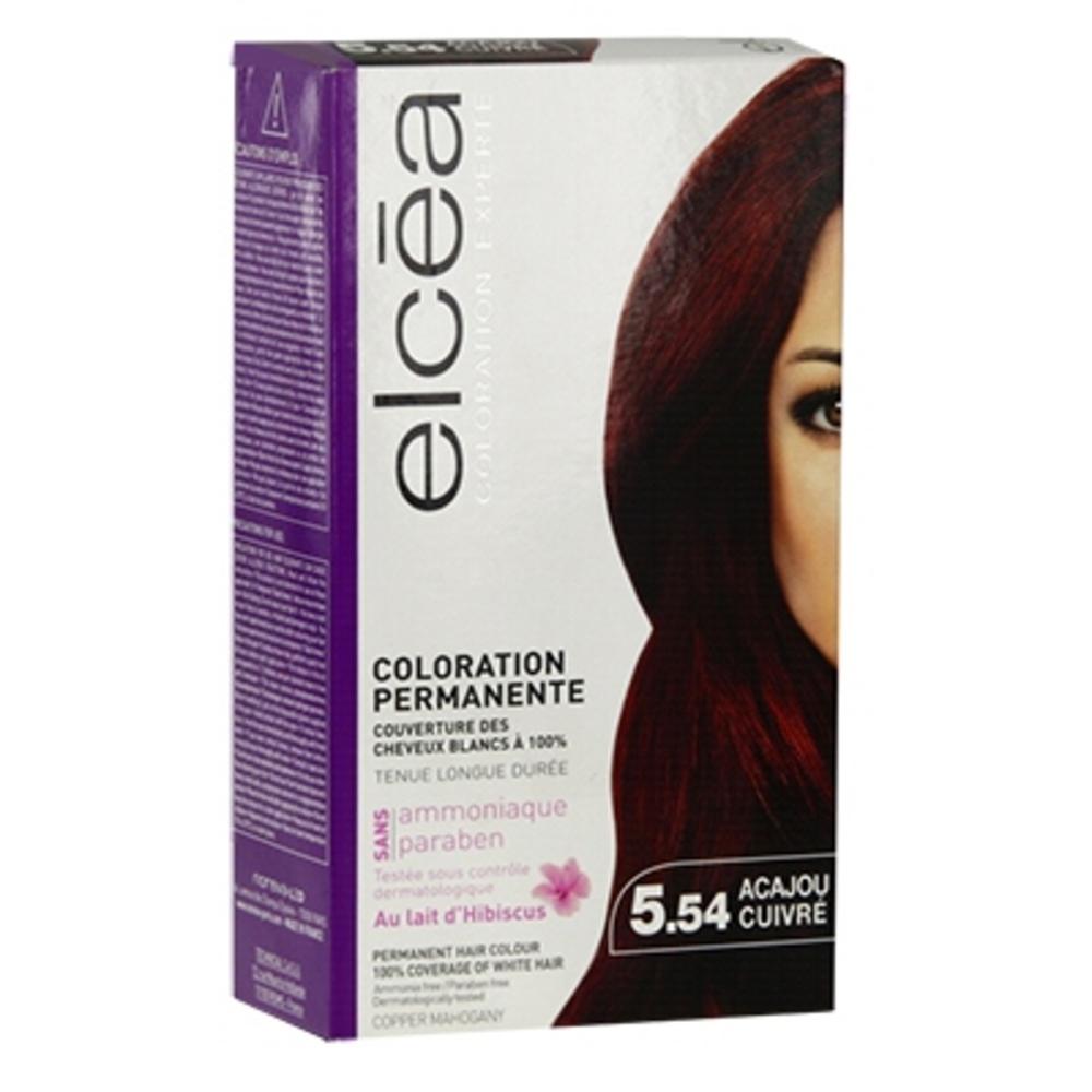 Elcea coloration experte 5.54 acajou cuivré - elcea -143863