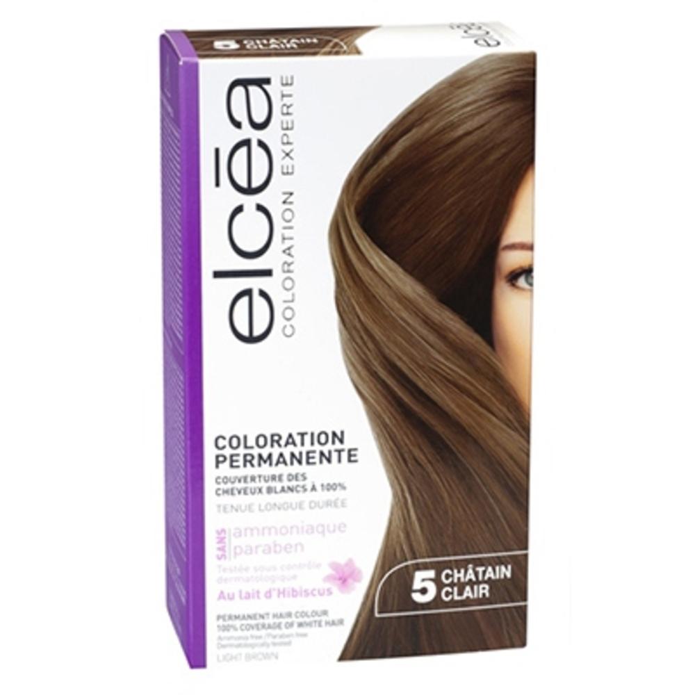 Elcea coloration experte 5 châtain clair - elcea -143854