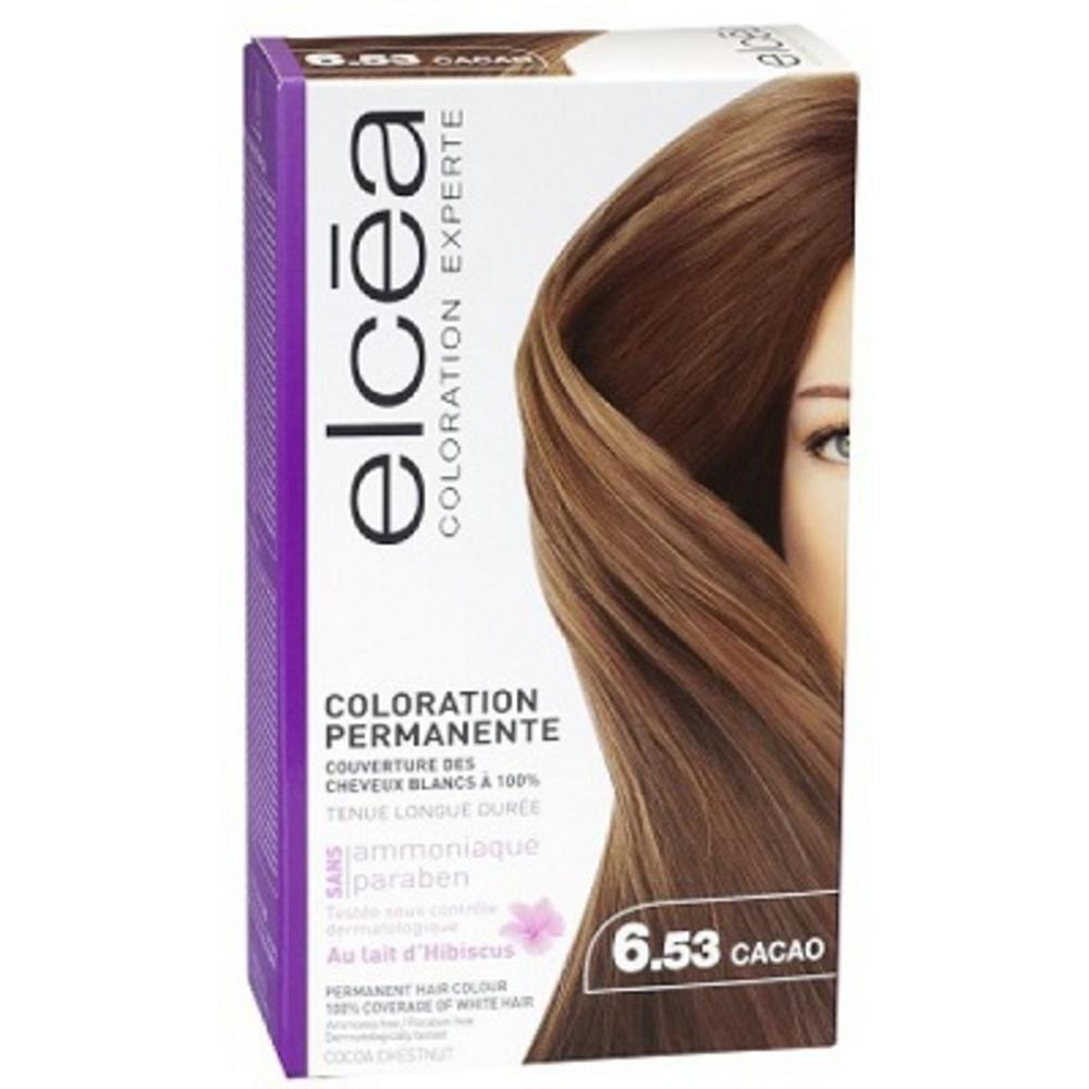 prix d 39 elcea coloration experte cacao coloration cheveux 130ml. Black Bedroom Furniture Sets. Home Design Ideas