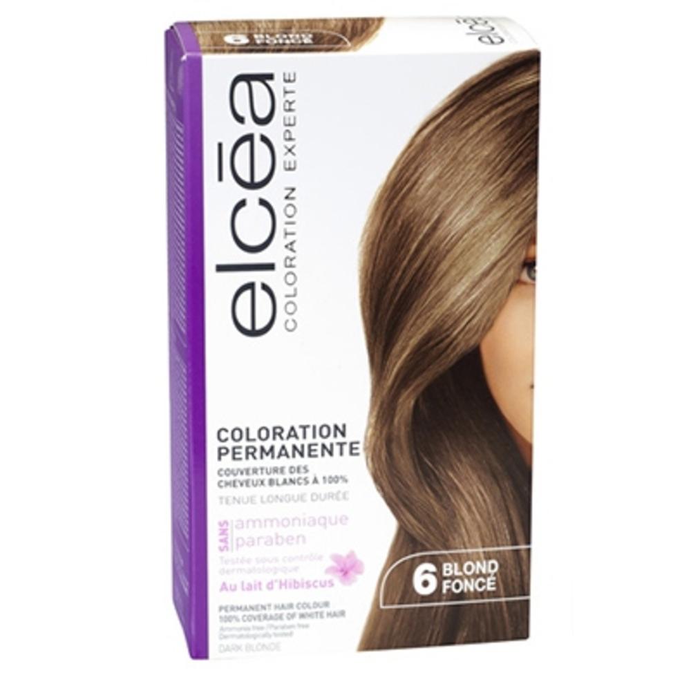 Elcea coloration experte 6 blond foncé - elcea -143855