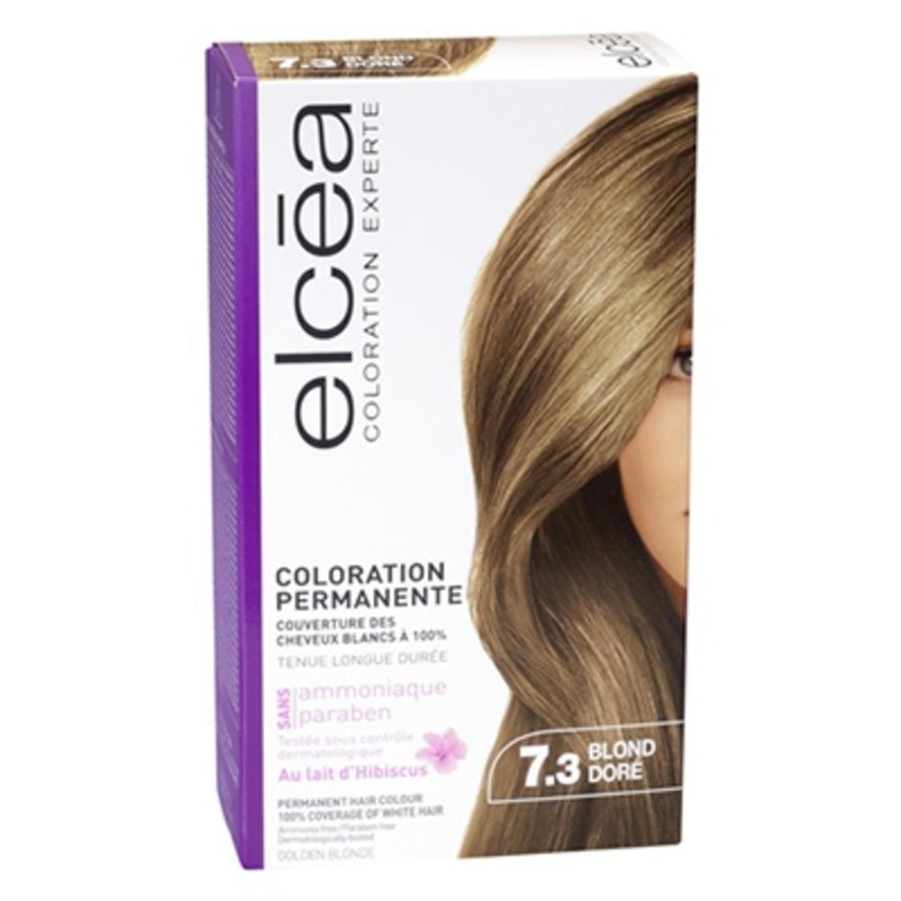 Elcea coloration experte 7.3 blond doré - elcea -143860