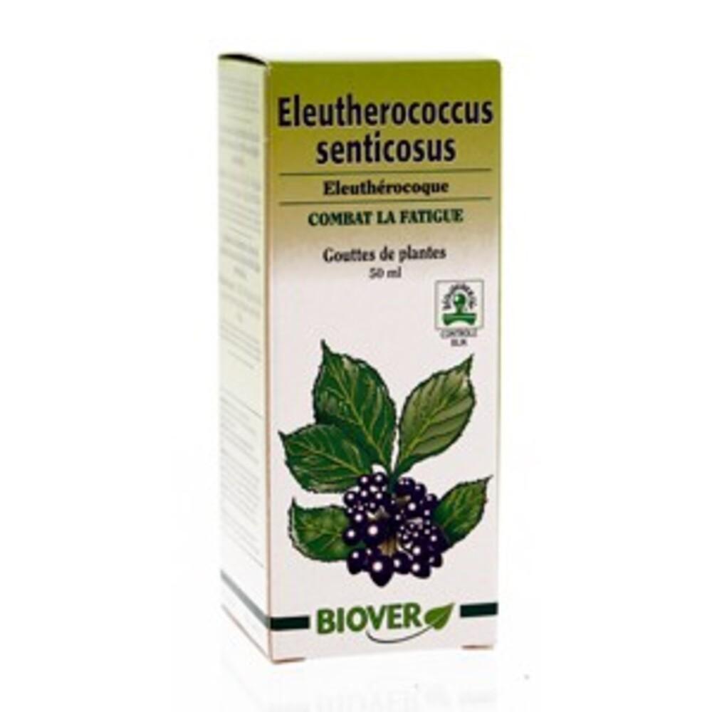 Eleutherococcus senticosus (eleuthérocoque) bio - 50.0 ml - gouttes de plantes - teintures mères - biover Stress et fatigue-8966
