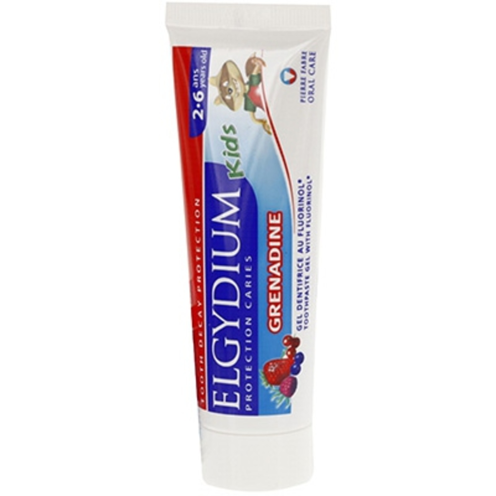 Elgydium kids dentifrice grenadine - 50.0 ml - elgydium -145753