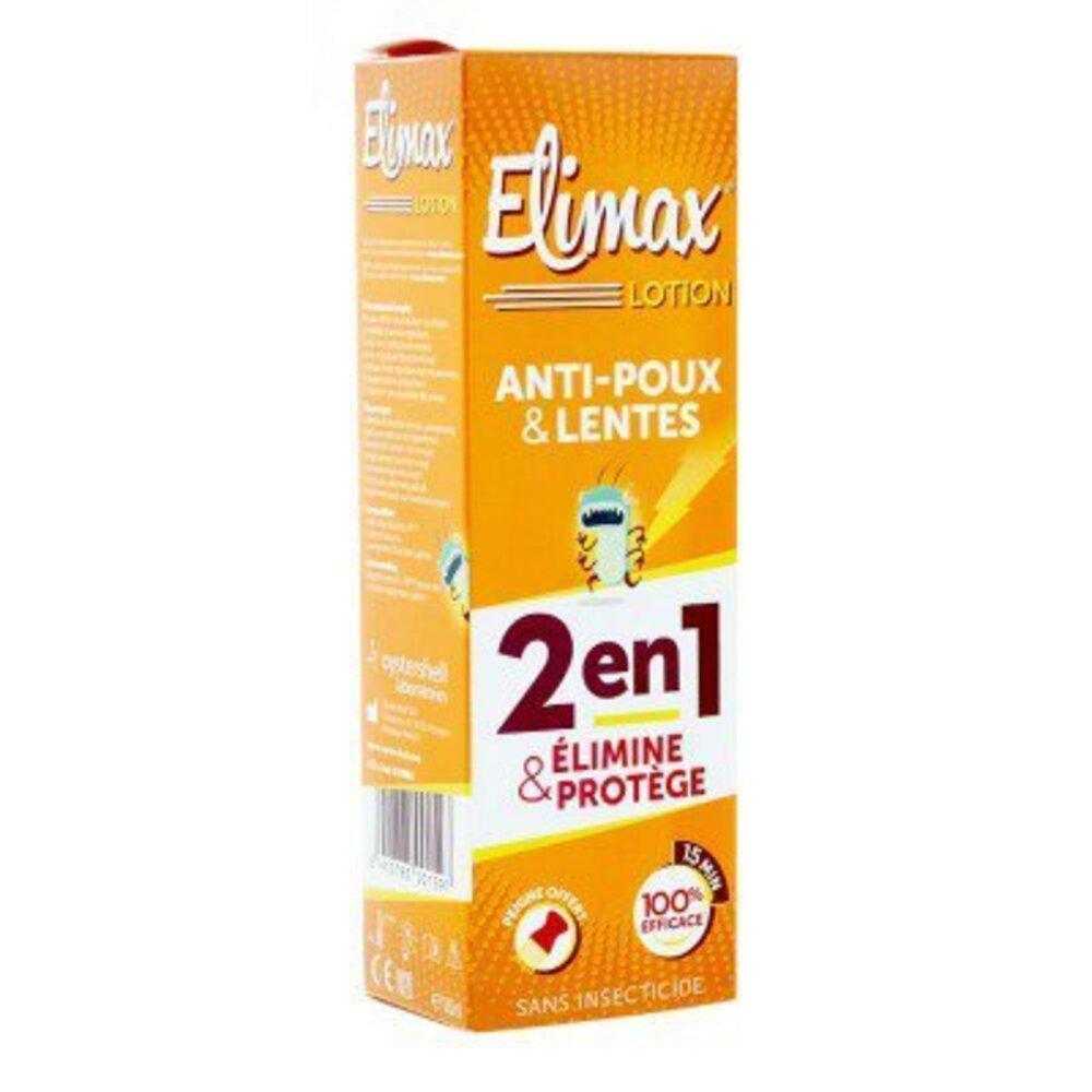 Elimax lotion anti-poux et lentes 100ml - elimax -191970