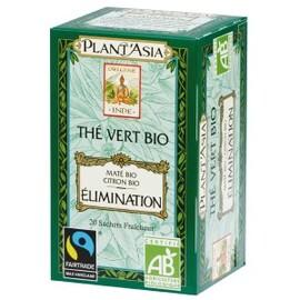 Elimination max havelaar - 20.0 unites - thés bio - plant'asia -16206