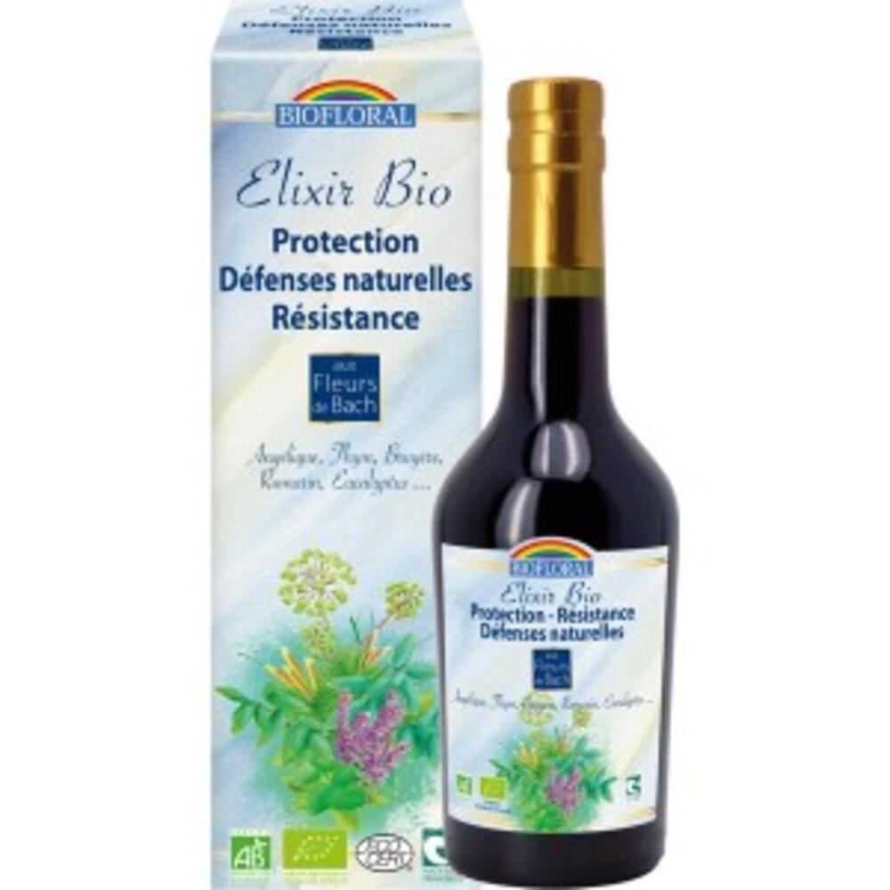 Elixir  aux plantes d'hiver (bio) - 375.0 ml - les plantes des 4 saisons - biofloral Résistance, défense, revitalisation-4035