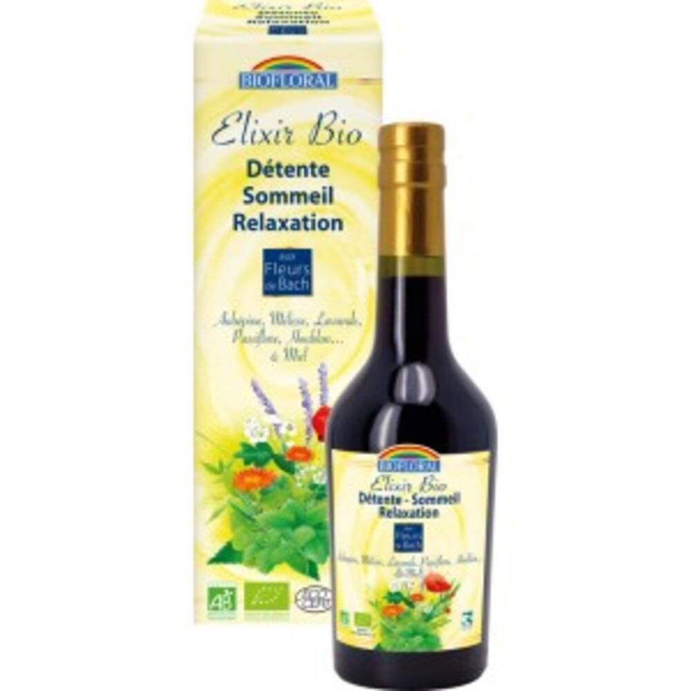 Elixir  - fleurs d'été (bio) - 375.0 ml - les plantes des 4 saisons - biofloral Detente - Sommeil - Relaxation-1413