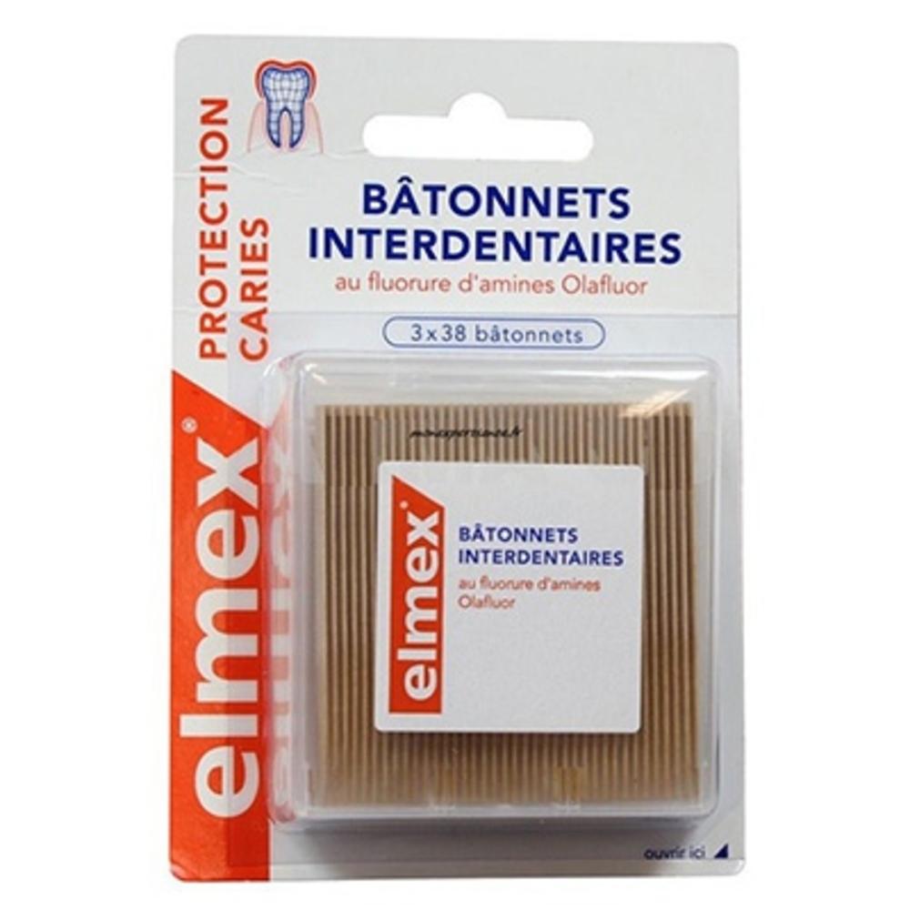 Elmex batonnets interdentaires - 38.0 unites - accessoires interdentaires - elmex -105342