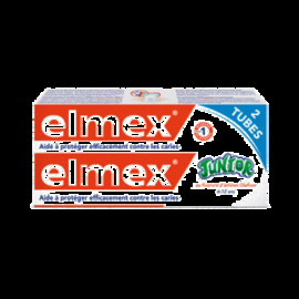 Elmex dentifrice junior - lot de 2 - 150.0 ml - dentifrices - elmex -128116