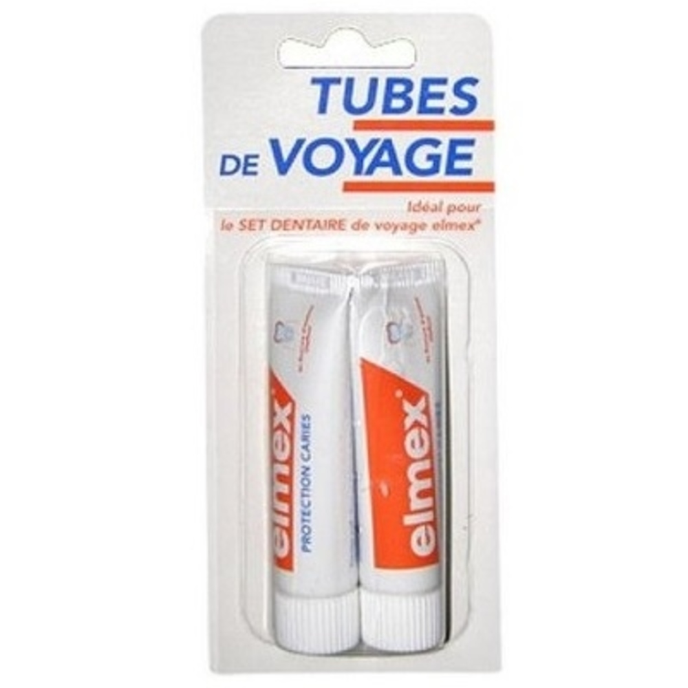 Elmex dentifrice tubes de voyage - 12.0 ml - dentifrices - elmex -105322