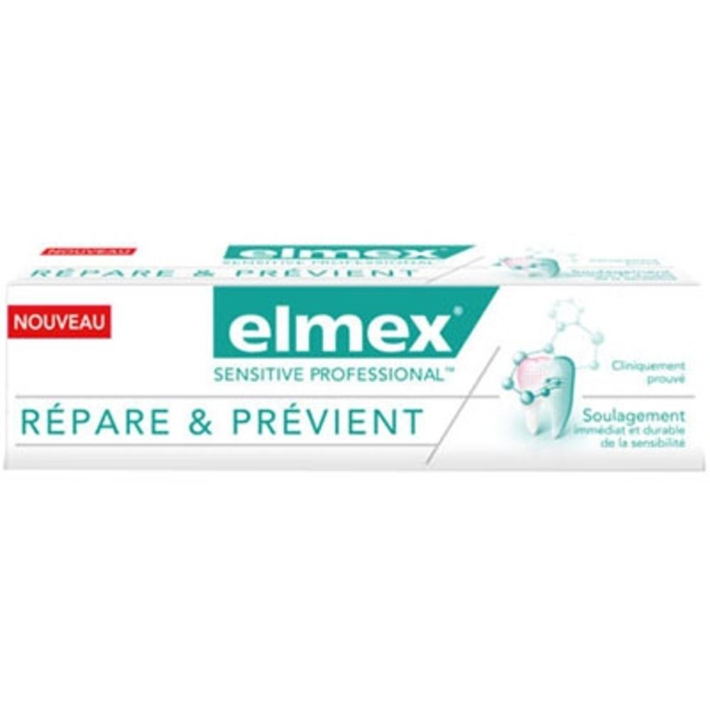 Elmex sensitive professional dentifrice répare et prévient - 75ml - elmex -204954