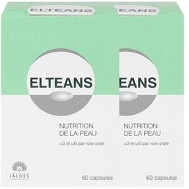 Elteans lot 2x60 capsules - jaldes -206604