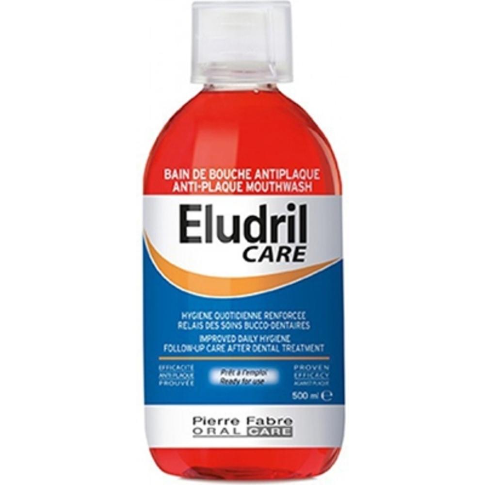 Eludril care bain de bouche quotidien 500ml - 500.0 ml - pierre fabre -210405