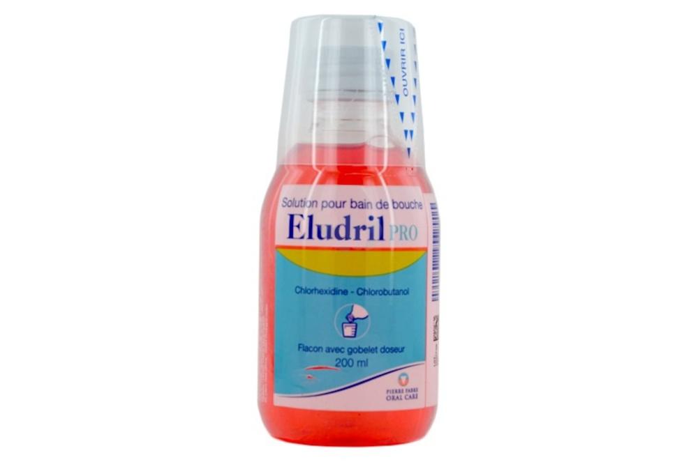 Eludrilpro solution pour bain de bouche - 200.0 ml - pierre fabre -194030