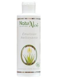 Emulsion nettoyante bio - 200.0 ml - cosmétique bio à l'aloé vera - naturaloe -13537