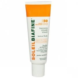 Emulsion solaire visage spf50+ - 50.0 ml - solaire - soleilbiafine -142846