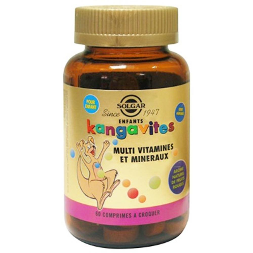 Enfants kangavites multi vitamines et mineraux - solgar -196966