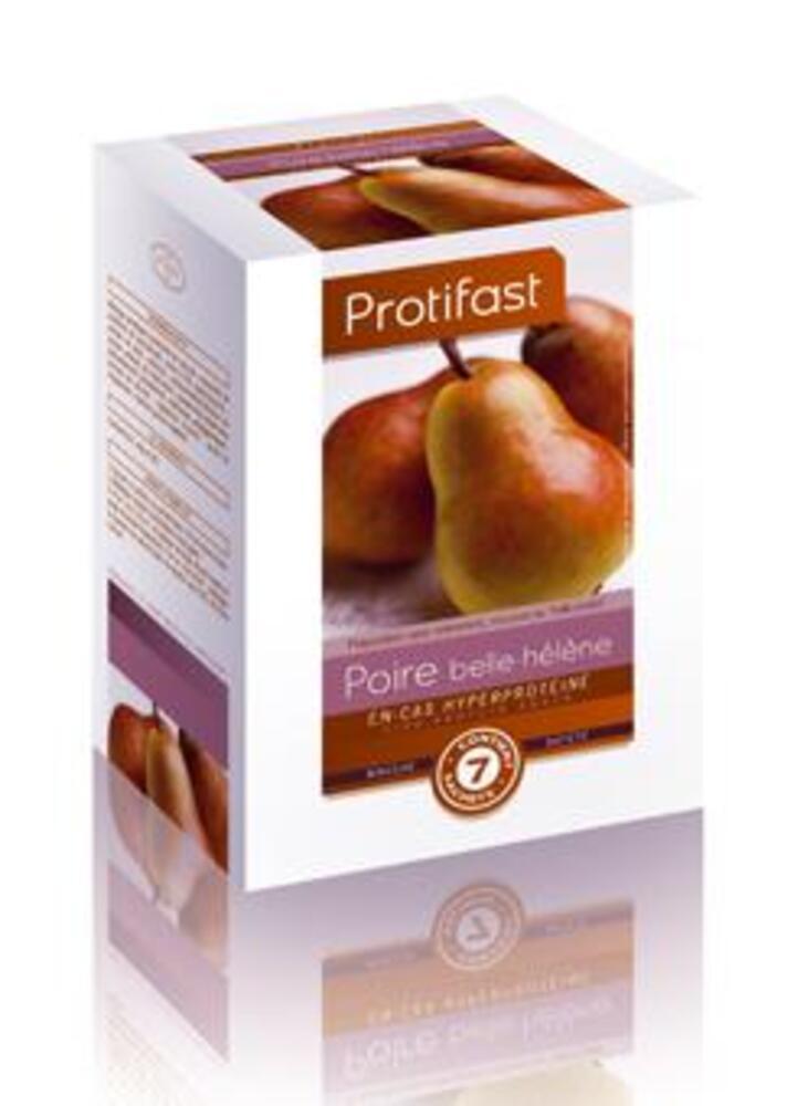 Entremets poire belle helene x7 - protifast Préparation en poudre diététique hyperprotéinée-148347