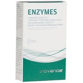 Enzymes 40 gélules - inovance -219384