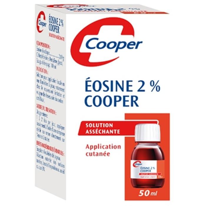 Eosine 2% solution asséchante 50ml Cooper-209524