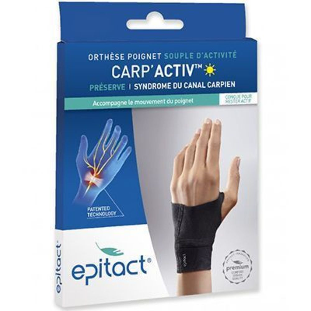 Epitact orthèse poignet carp'activ main gauche taille m Epitact-224385