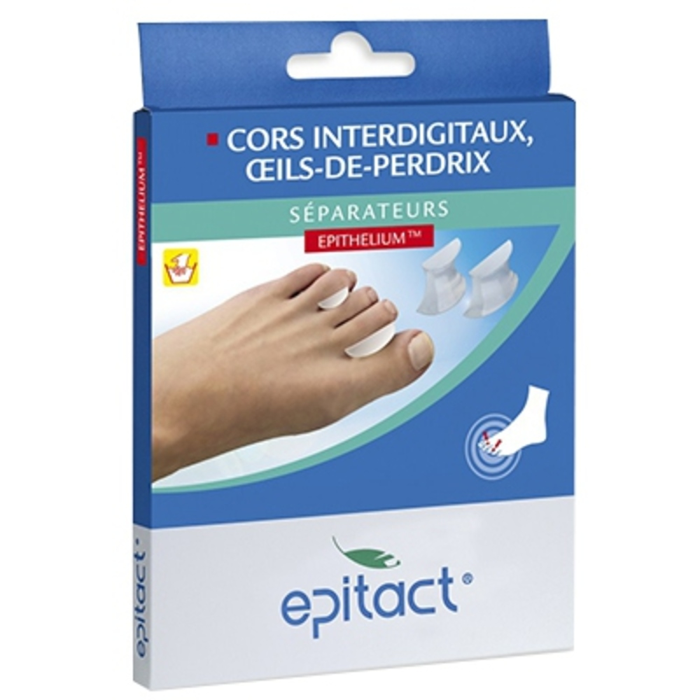 Epitact séparateurs cors interdigitaux, oeils-de-perdrix epithelium taille l - epitact -146051