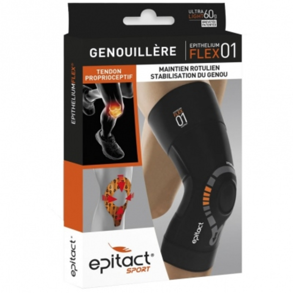 Epitact sport genouillère - taille l - epitact -190199