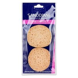 Eponge à démaquiller x2 - 2.0 unites - maquillage - sanodiane -5688