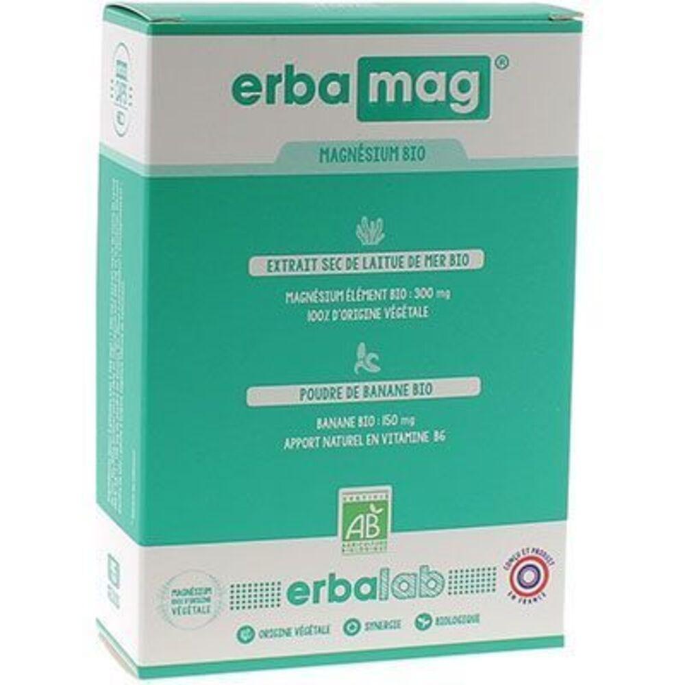 Erbalab erbamag 45 gélules - erbalab -225293