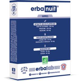 Erbalab erbanuit 30 gélules - erbalab -216119
