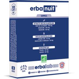 Erbanuit 30 gélules - erbalab -216119