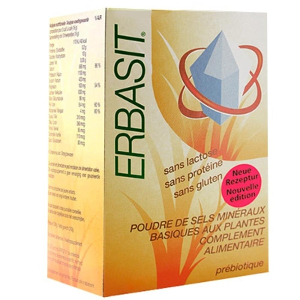 Erbasit poudre sans lactose - 240.0 g - erbasit -5866