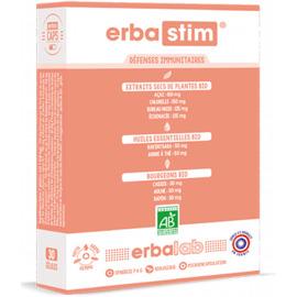 Erbastim 30 gélules - erbalab -216120