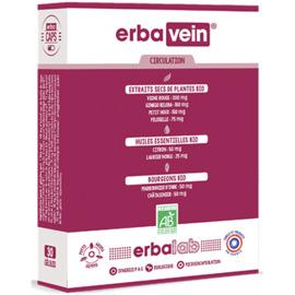 Erbavein 30 gélules - erbalab -216437