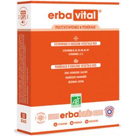 Erbavital 30 gélules - erbalab -216438