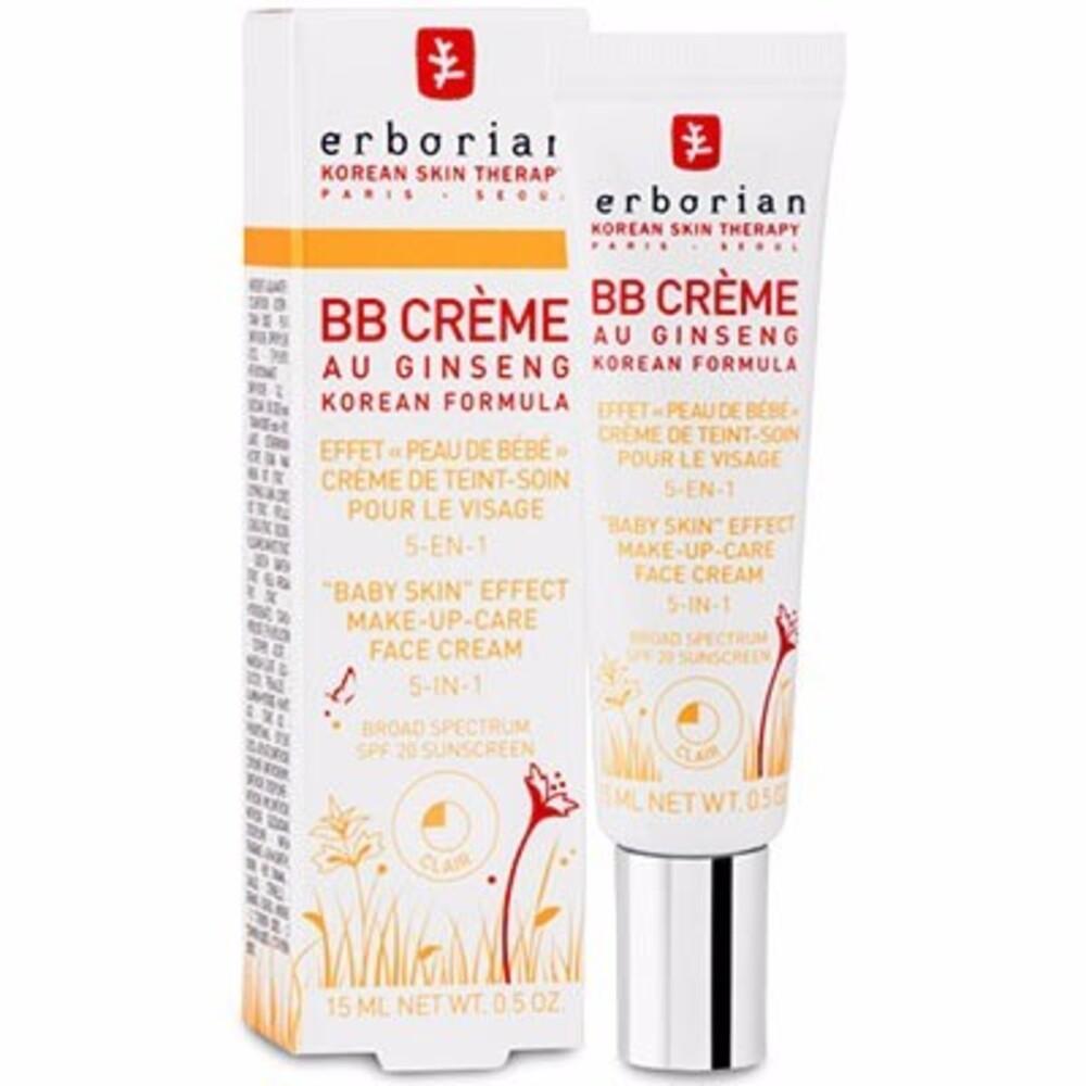 Erborian bb crème au ginseng clair 15ml - erborian -214641
