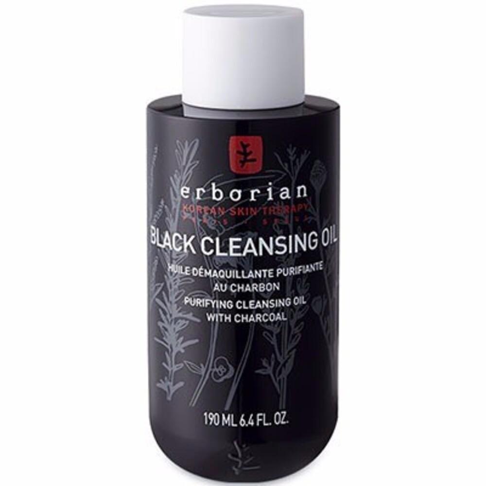 Erborian black cleansing oil 190ml - erborian -214646
