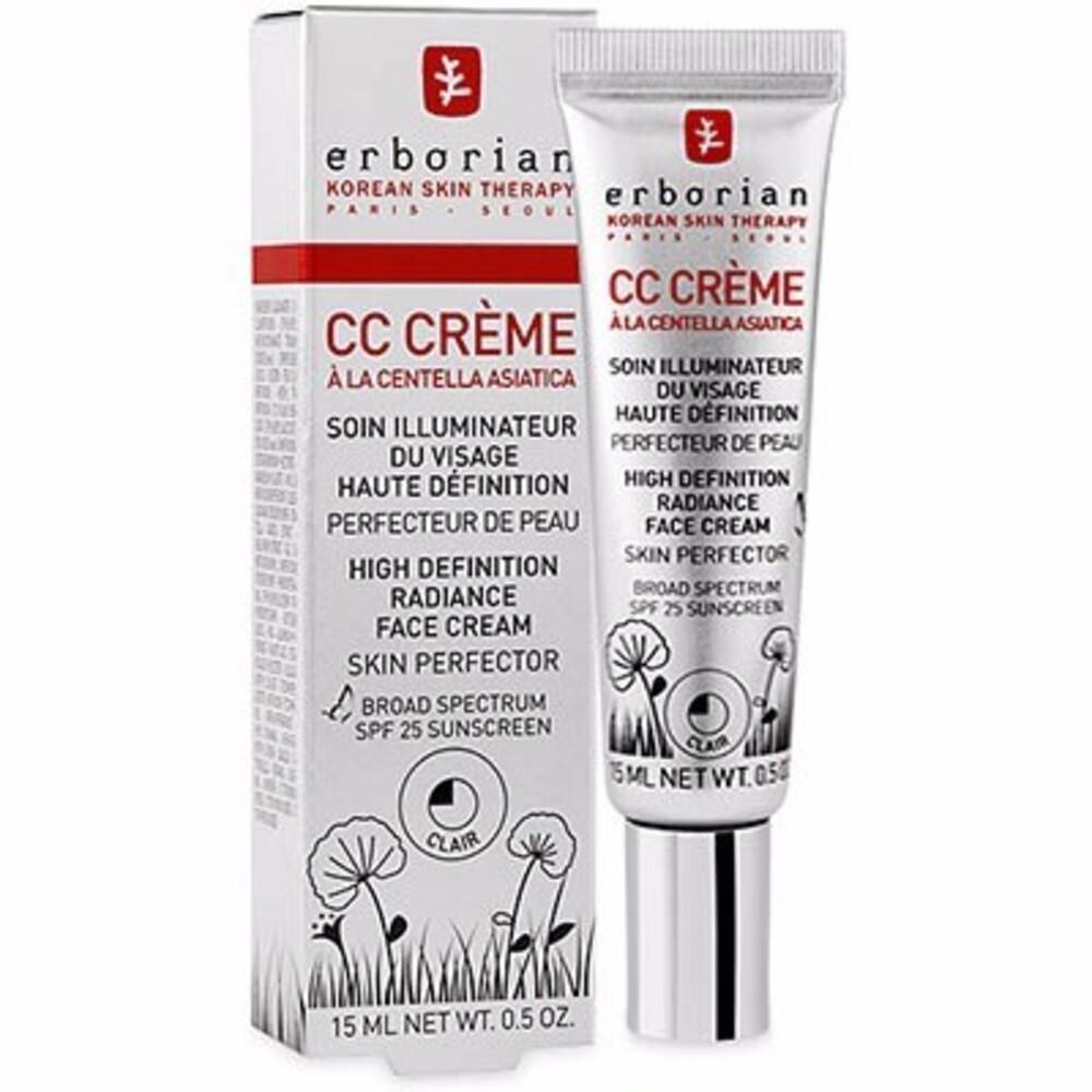 Erborian cc crème à la centella asiatica clair 15ml - erborian -214648
