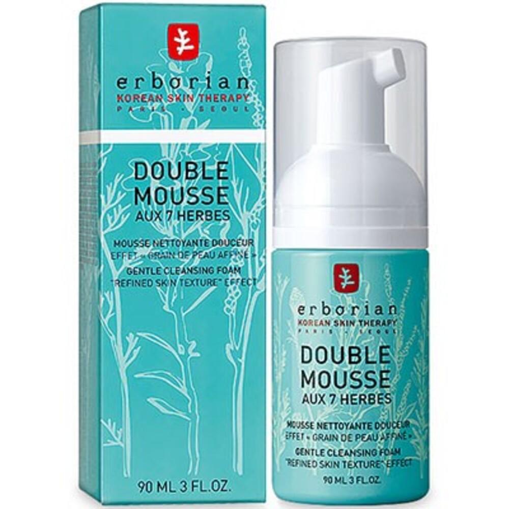 Erborian double mousse aux 7 herbes 90ml - erborian -214654
