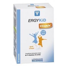 Ergykid vitamin - 14 sachets - nutergia -201024